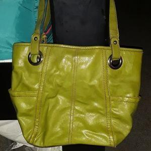 RELIC green purse